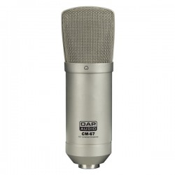 DAP CM-67 Studio FET Condenser Microfoon