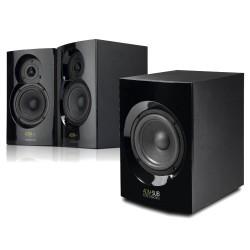 Reloop ADM-4 en ADM-SUB studiomonitor set