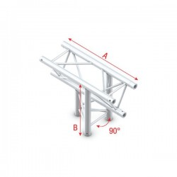 Showtec Triangle Truss PT30...
