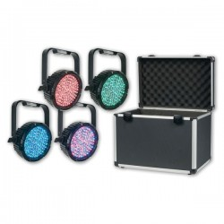 Showtec LED Par set incl. Flightcase