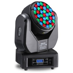 BeamZ Professional	MHL373 LED Moving Head 37x 3W RGB 14 kanaals DMX
