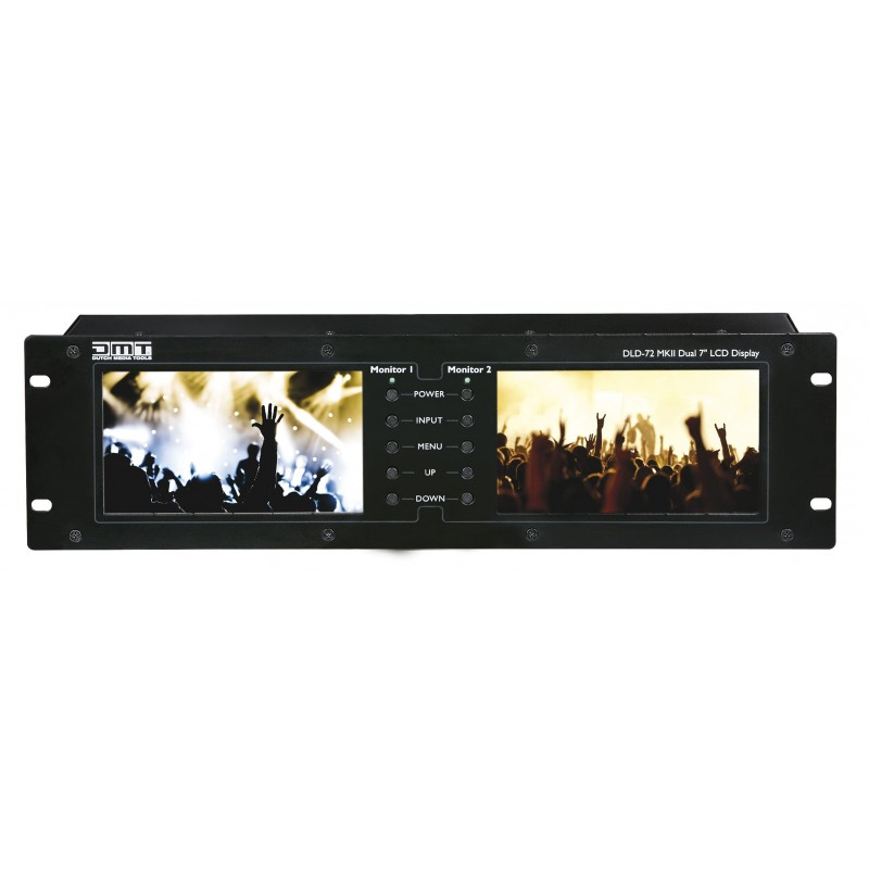 """DLD-72 MKII Dual 7"""" Display with HDMI link"""