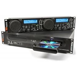 Power DynamicsPDX115 Dubbele Speler CD/SD/USB/MP3