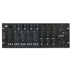 Imix-5.3 install mixer 5 kanalen en 3 zones