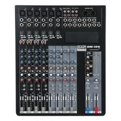 GIG-124C Live mixer 12 kanaals met dynamics