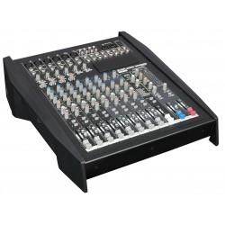 GIG 1000CFX 12 kanaals live mixer met dynamics DSP en 100W versterker