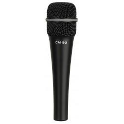 CM-50 Condensatormicrofoon met achterelektret voor zang/instrumenten