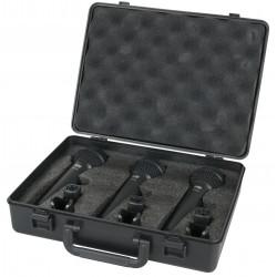 PDM-Pack Zangpakket met 3 dynamische microfoons