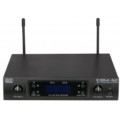 COM-42 handheldset UHF draadloze microfoon