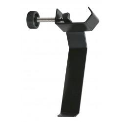 Koptelefoonhouder voor microfoonstandaarden