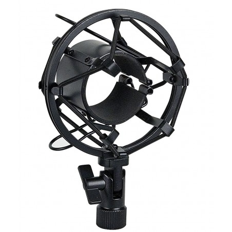 Microfoonhouder 44-48 mm zwarte anti-schok-montage