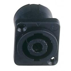 Speaker Chassis 4polig Zwart Female
