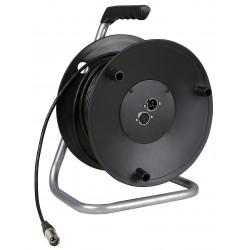 Cabledrum met 50m microphone kabel