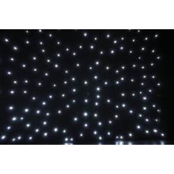 Star Drape White LED
