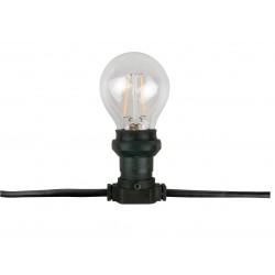 Belt Light E27 zwarte kabel