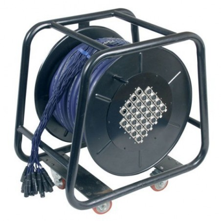 Stagewheel 24 In - 4 out 30m voor podium