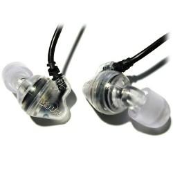 Shure E2c in ear hoofdtelefoon (Transparant)