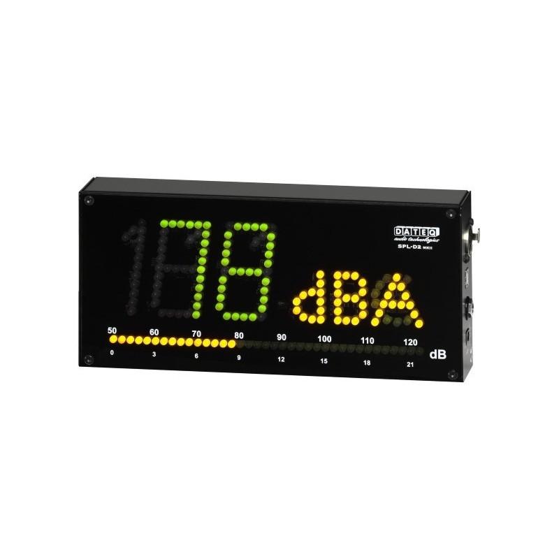 Dateq SPL-D2 geluidsdruk meter