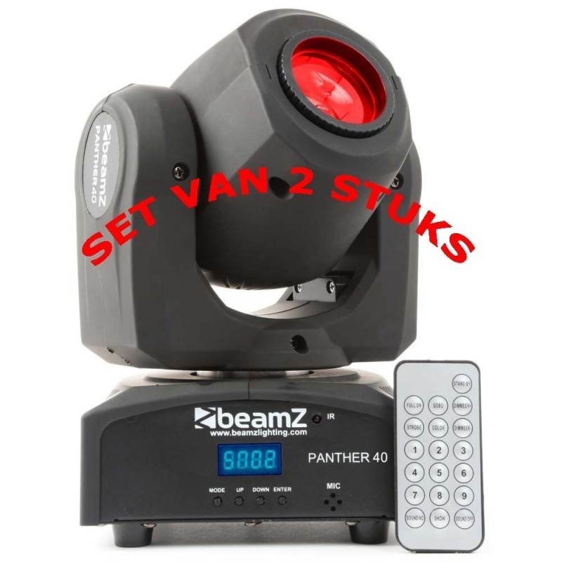 BeamZ	Panther 40 Led Spot SET