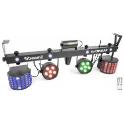 BeamZShowBar 2x PAR 6x 4in1 2xButterfly, Laser R/G DMX IRC