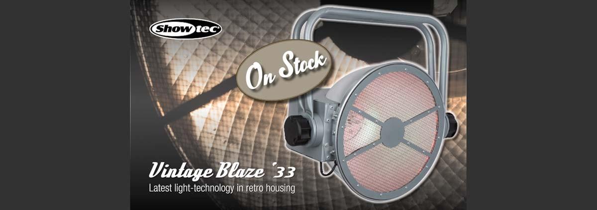 SHOWTEC VINTAGE BLAZE '33 HPL- EN RGB-LED